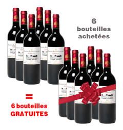 Château Bellevue Guignard : 6 bouteilles achetées + 6 gratuites