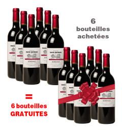 Château David Sertreau : 6 bouteilles achetées + 6 gratuites