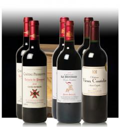 Assortiment Grandes Appellations (6 bouteilles en Caisse Bois)