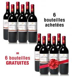 6 bouteilles achetées + 6 gratuites Château la Croix d'Yvrac