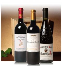 Assortiment Trésors de France (3 bouteilles en Caisse Bois)