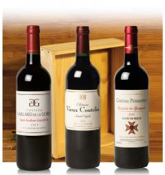 Assortiment Prestige du Bordelais (3 bouteilles en Caisse Bois)